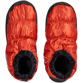 Nordisk donsschoenen, red orange